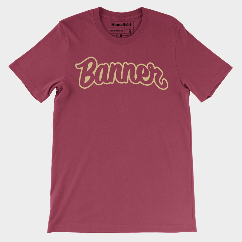 Banner Society Tee (Multiple Colors)