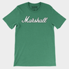 marshall basketball script tee