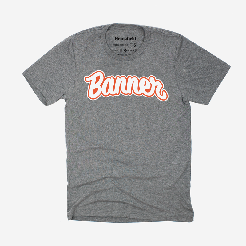 Banner Society Grey Tee (Multiple Colors)