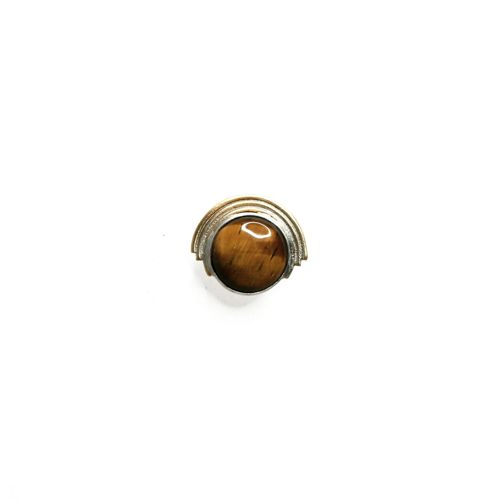 Tiger Eye Pin
