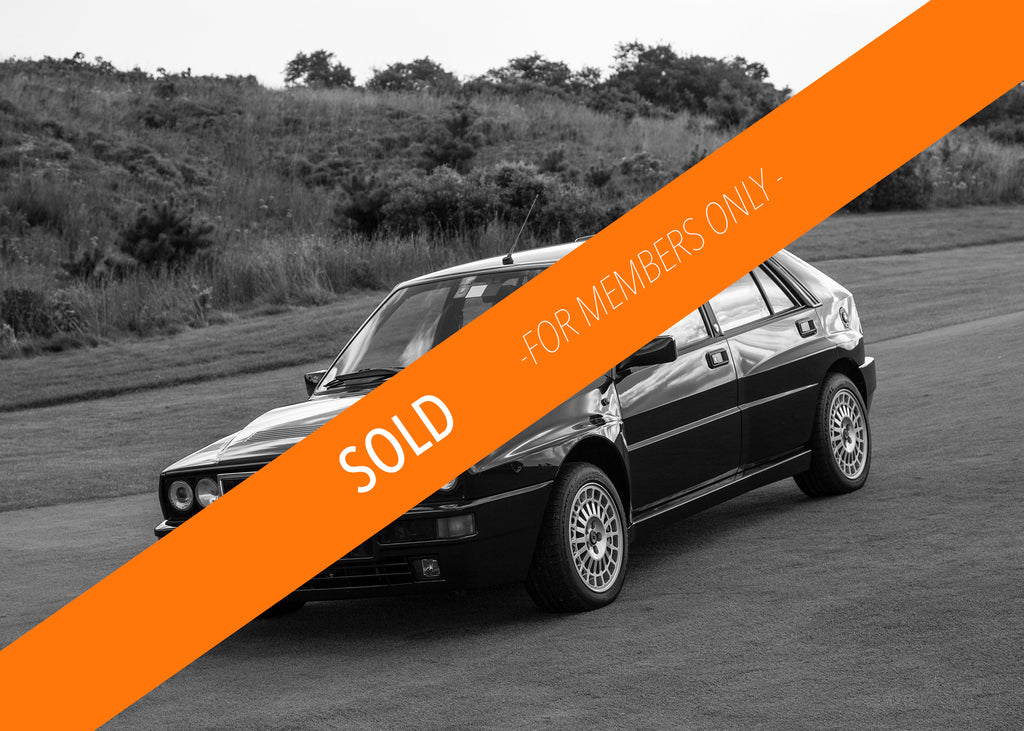 Sold - 1992 Lancia Delta Integrale Verde York