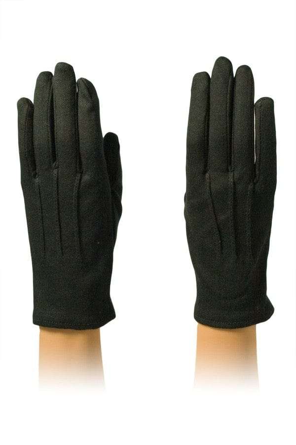 Black Cotton Housekeeping Gloves