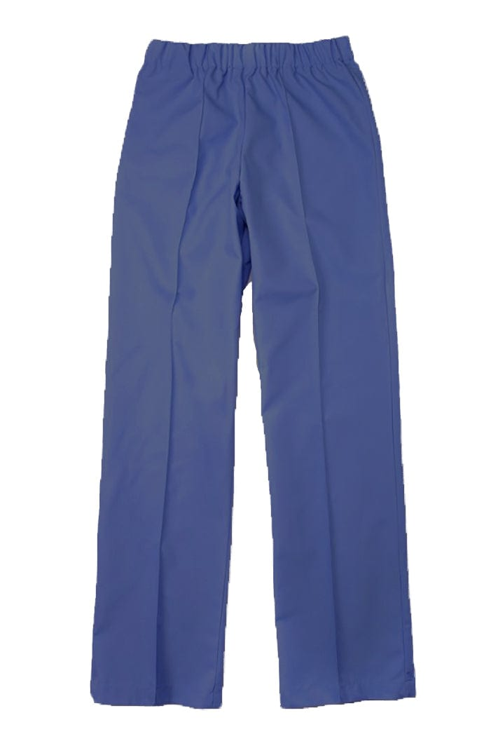 Women's Navy Elastic Waistband Poplin Housekeeping Pants