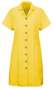 Gold Women's Housekeeping Princess Dress