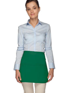 Kelly Green Rounded Waist Apron