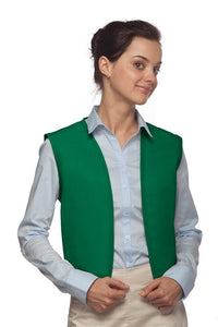 Kelly No Pocket Unisex Vest with No Buttons