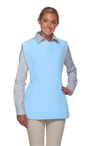 Light Blue 2 Pocket Cobbler Apron