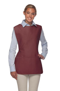 Maroon 2 Pocket Cobbler Apron