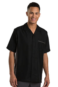 Black Premier Men's Housekeeping Service Shirt
