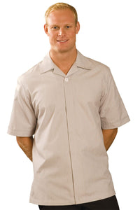 Tan Pincord Men's Housekeeping Service Shirt