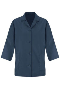 Navy Women's Smock 3/4 Sleeve