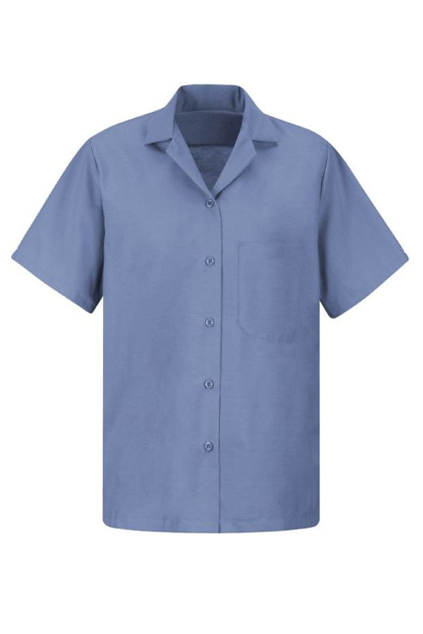 Petrol Blue Women's Uniform Blouse
