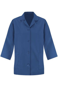 Royal Blue Women's Smock 3/4 Sleeve