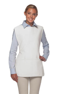 White 2 Pocket Cobbler Apron