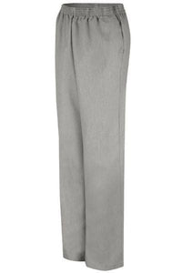Black Pincord Women's Housekeeping Slacks