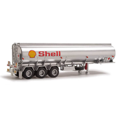 "Highway Replicas 1/64 Tanker Road Train ""Shell"""