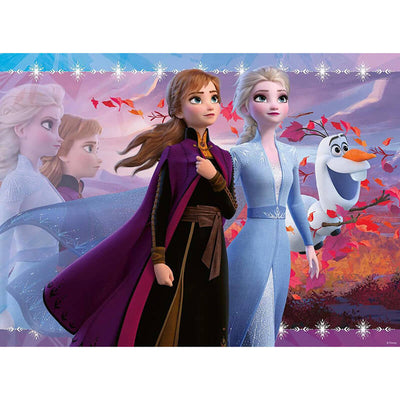 Frozen II Strong Sisters 100pcs Puzzle