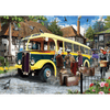 Catching the Bus by Nigel Chilvers 500pc Puzzle