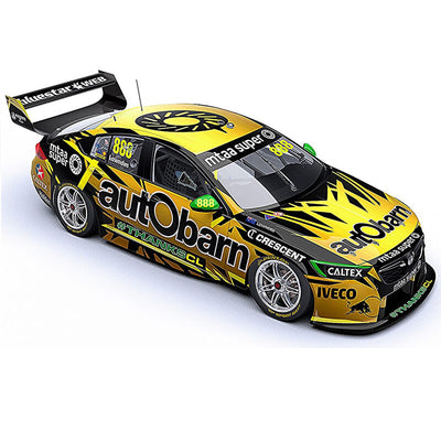 Classic Carlectables 1/18 Craig Lowndes' Final Race Autobarn Lowndes Racing Holden ZB Commodore
