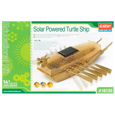 Academy Solar Powered Turtle Ship Kit