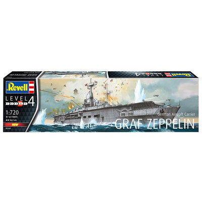 Revell 1/720 German Aircraft Carrier GRAF Zeppelin Kit