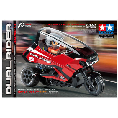 Tamiya 1/8 Dual Rider Star Unit T3-01 Chassis RC Kit