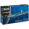 Revell 1/144 German Submarine Type II B (1943) Kit