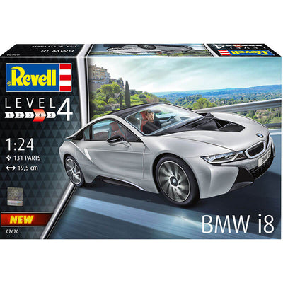 Revell 1/24 BMW i8 Kit