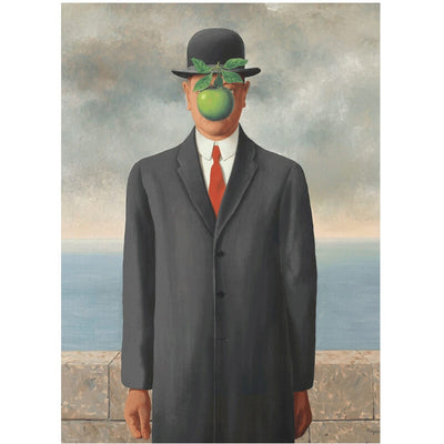 The Son of Man By Rene Magritte 1000pc Puzzle