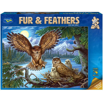 Night Owl Family 1000pc Puzzle