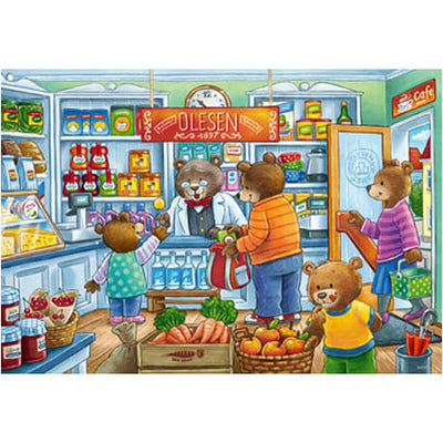 Let's go Shopping 2x12pcs Puzzle