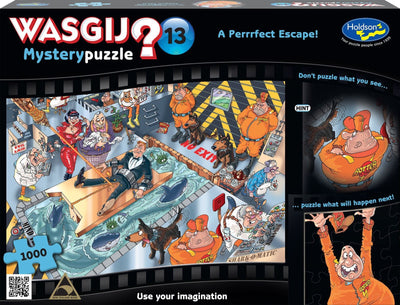 A Perrrfect Escape by James Alexander 1000 pcs Wasgij No.13 Puzzle