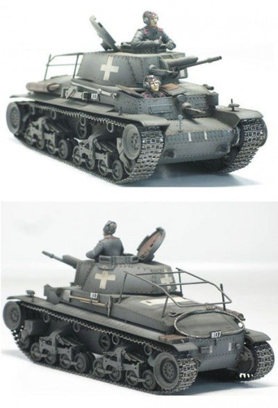 Academy 1/35 German Command Tank Pz.beg.wg. 35(t) Kit ACA-13313