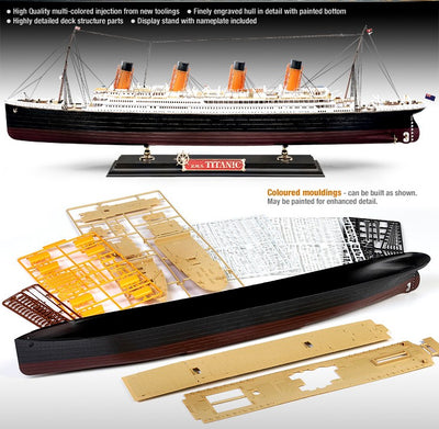 Academy 1/400 The White Star Liner Titanic Kit ACA-14215