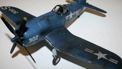 "Academy 1/48 F4U-4B ""Korean War"" Kit ACA-12267"
