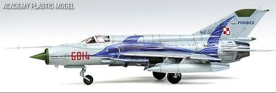 "Academy 1/48 MIG-21MF ""Polish Air Force"" Kit ACA-12224"
