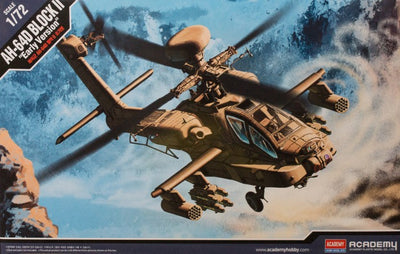 "Academy 1/72 AH-64D Block II ""Early Version"" Kit ACA-12514"