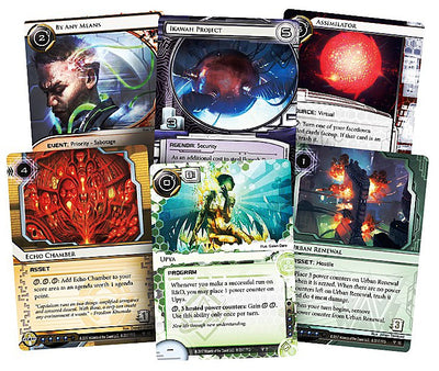 Android Netrunner LCG Sovereign Sight Data Pack