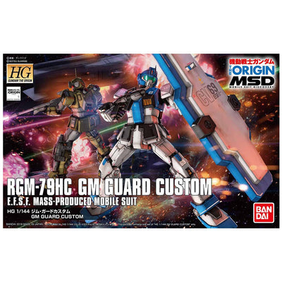 Bandai 1/144 HG RGM-79HC GM Guard Custom
