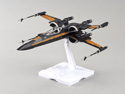 Bandai 1/72 Star Wars Poe's X-Wing Fighter Kit