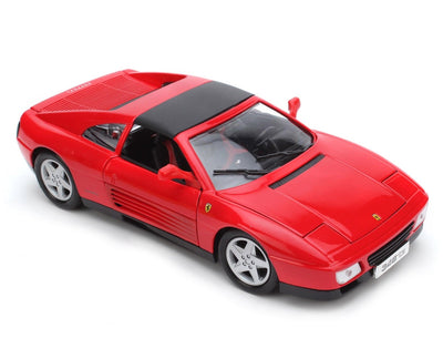 BBURAGO 1/18 Ferrari 348ts Red Diecast Model