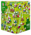 Crazy Football by Guillermo Mordillo 1000pc Puzzle