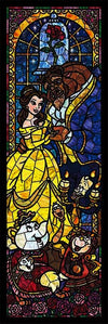 Disney Beauty and the Beast Stained Glass 456pcs Puzzle