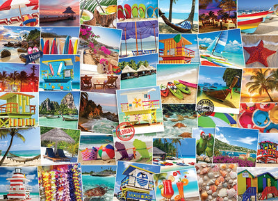 Globetrotter - Beaches 1000 pcs Puzzle