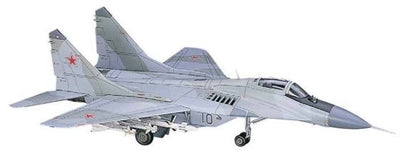 Hasegawa 1/72 MIG-29 Fulcrum Farnborough (Russian AirForce Fighter) Kit H00541