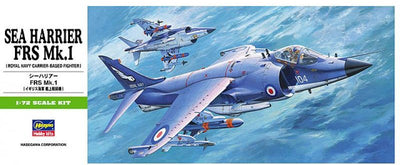 Hasegawa 1/72 Sea Harrier FRS MK.1 (Royal Navy Fighter) Kit H00235
