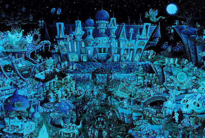 Haunted Party (Glow in the Dark) 1000pcs Puzzle