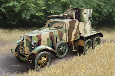 HobbyBoss 1/35 Soviet BA-6 Armor Car Kit HB-83839