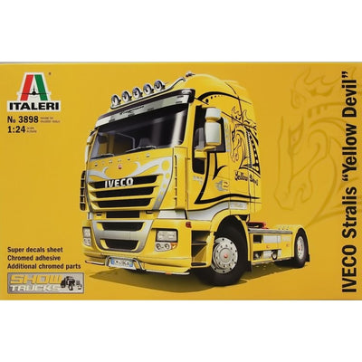 "Italeri 1/24 IVECO Stralis ""Yellow Devil"" Kit ITA-03898"