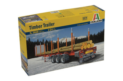 Italeri 1/24 Timber Trailer Kit